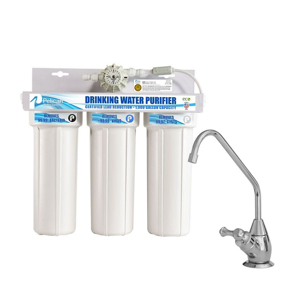 3-Stage Drinking Water System - Chrome