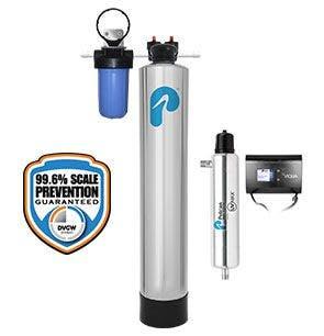 Water Softener Alternatives with NaturSoft Salt-Free Technology + UV, 4-6 Bathroom