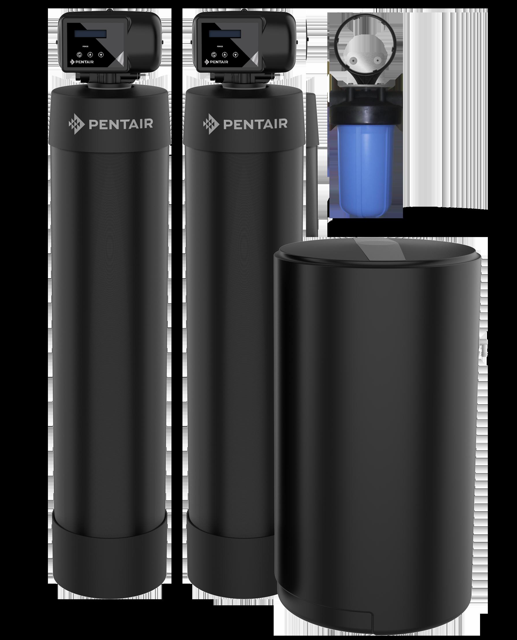 Salt Softener & Carbon Combo System (4-6 Bath)