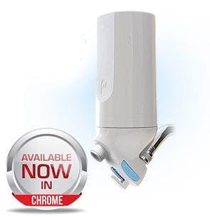 Premium White Shower Water Filter - No Head