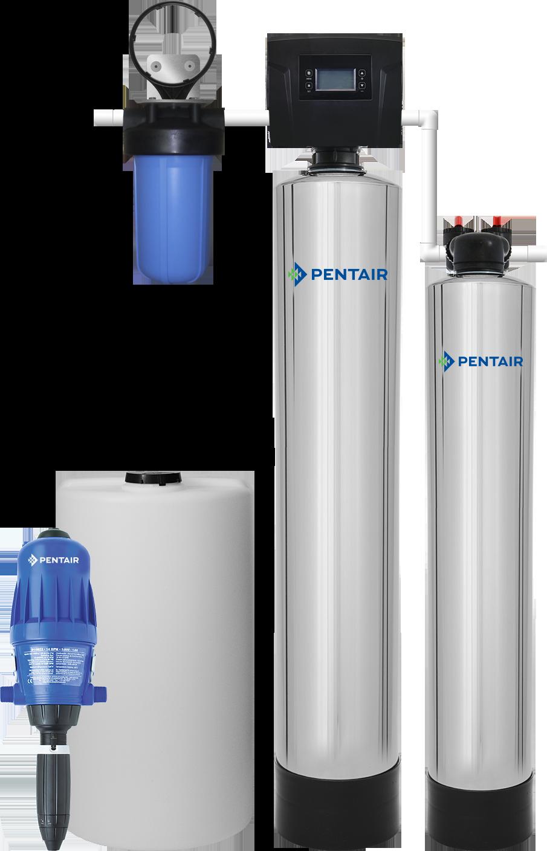 Iron & Manganese Filter Combo System (1-3 Bath)